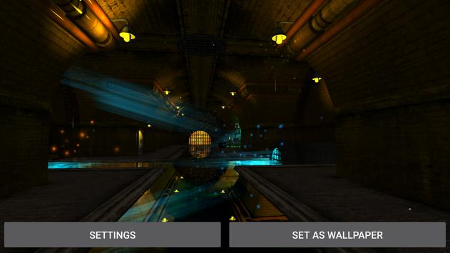 3D  Tunnel Live Wallpaper screenshot 20
