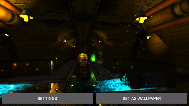 3D  Tunnel Live Wallpaper screenshot 23