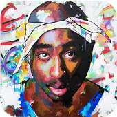 Tupac Wallpapers HD 4K icon