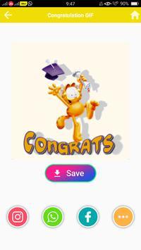Congratulation GIF screenshot 3