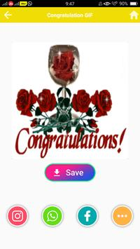Congratulation GIF screenshot 5