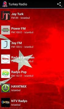 Turkey Radio screenshot 1