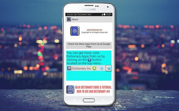 Turkish English Dictionary apk screenshot