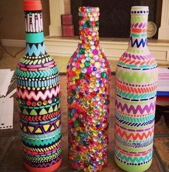 Tutorial Bottle Craft Ideas screenshot 4