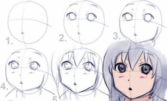 Tutorial Drawing Anime poster