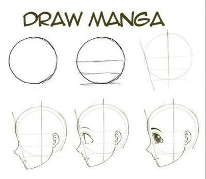 Tutorial Drawing Anime apk screenshot