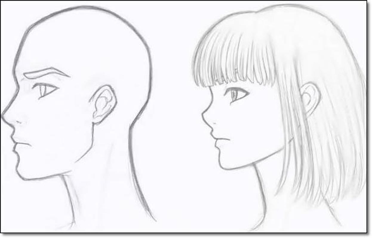 Tutorial drawing anime beginners screenshot 13