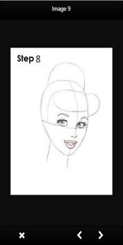 Drawing Princess Tutorial apk screenshot