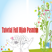 TUTORIAL FULL HIJAB PASMINA icon