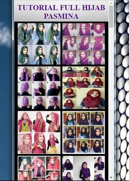 TUTORIAL FULL HIJAB PASMINA screenshot 5