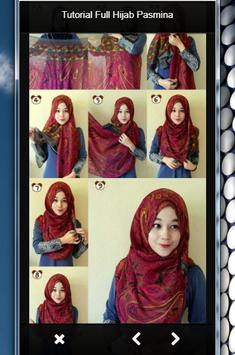 TUTORIAL FULL HIJAB PASMINA screenshot 6