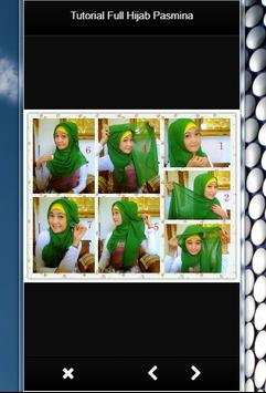 TUTORIAL FULL HIJAB PASMINA screenshot 1