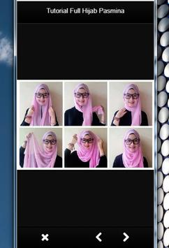 TUTORIAL FULL HIJAB PASMINA screenshot 2