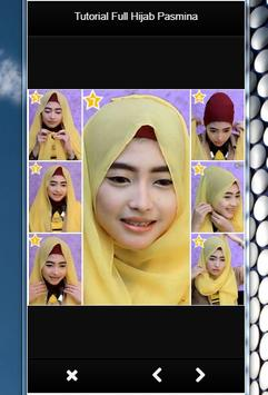 TUTORIAL FULL HIJAB PASMINA screenshot 3