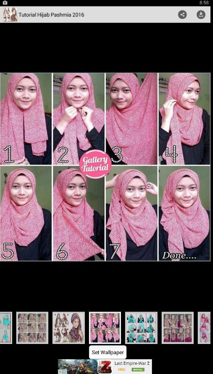 Tutorial Hijab Pashmina 2016 For Android Apk Download