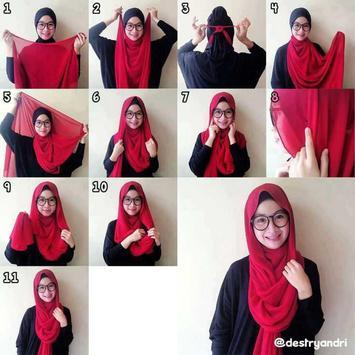 Tutorial Hijab Pashmina screenshot 3