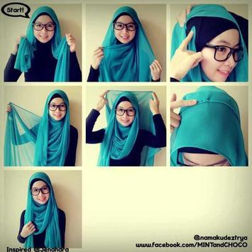 Tutorial Hijab Pashmina screenshot 4