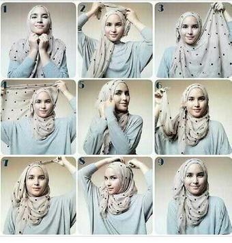 Tutorial Hijab Pashmina screenshot 5