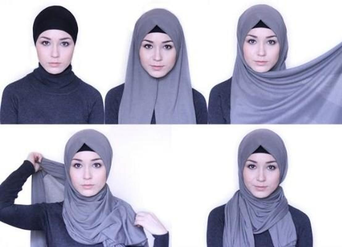 tutorial hijab simple modern for android - apk download