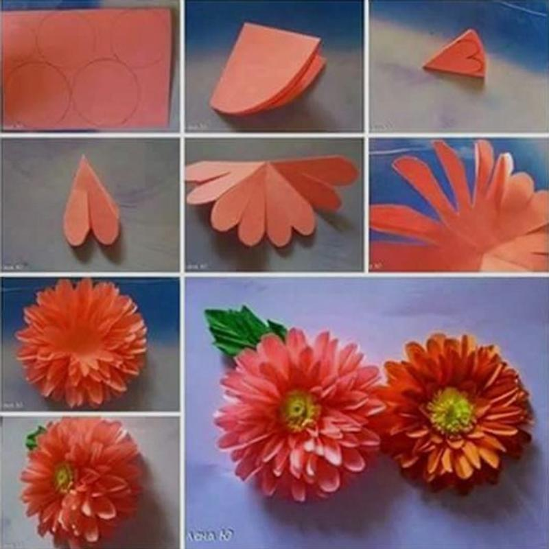 Tutorial making paper flower for android apk download tutorial making paper flower screenshot 2 mightylinksfo
