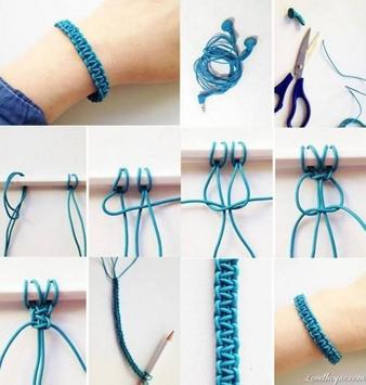 Creative DIY Bracelet Tutorial poster