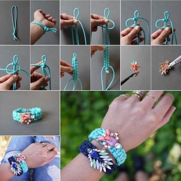 Creative DIY Bracelet Tutorial screenshot 1