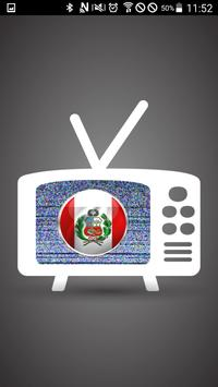 Watching TV Live Peru poster
