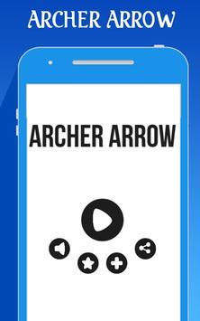 Archer Arrow Circle poster