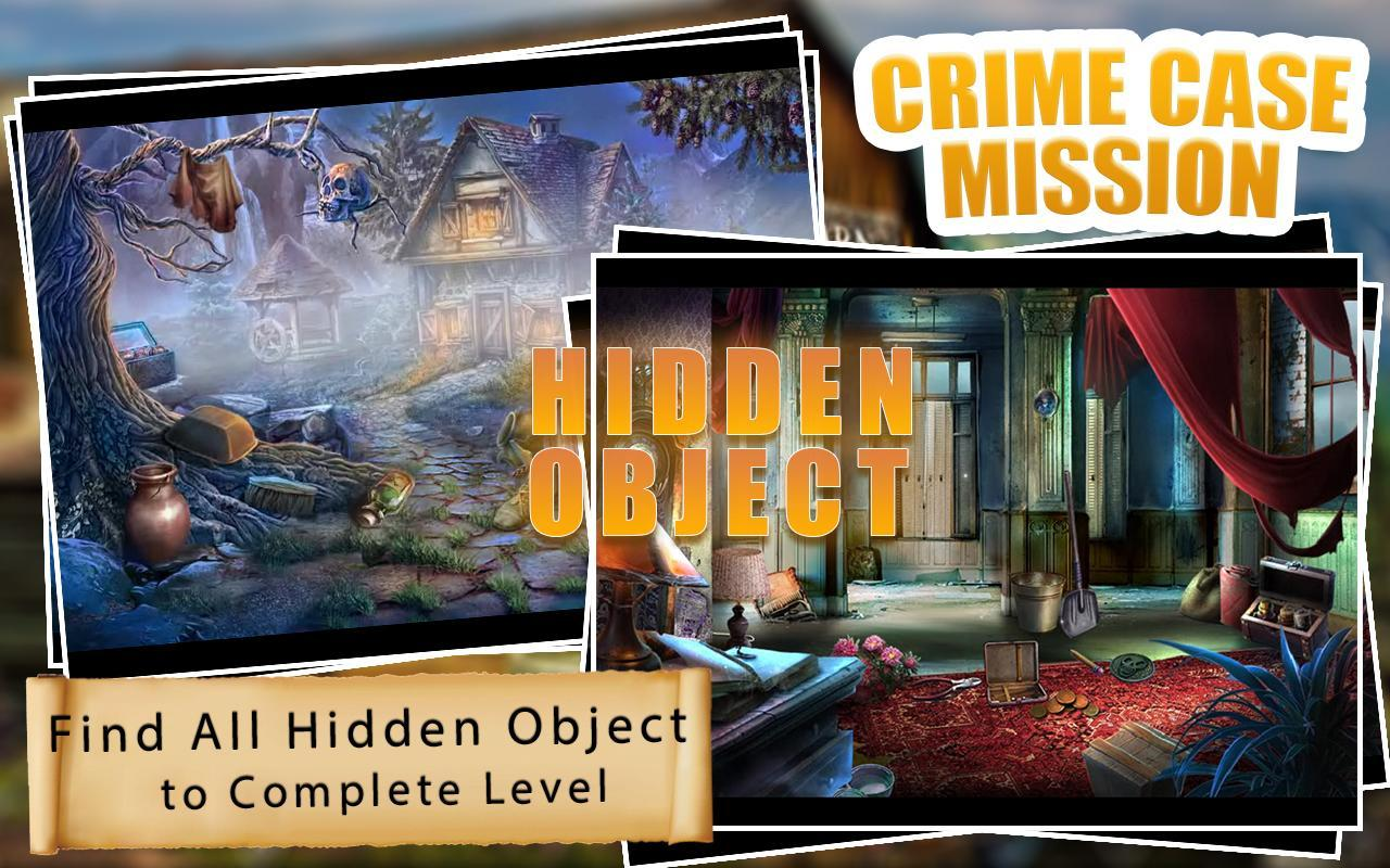 Crime Case Mission Hidden Object Game 100 Levels Cho Android Tải