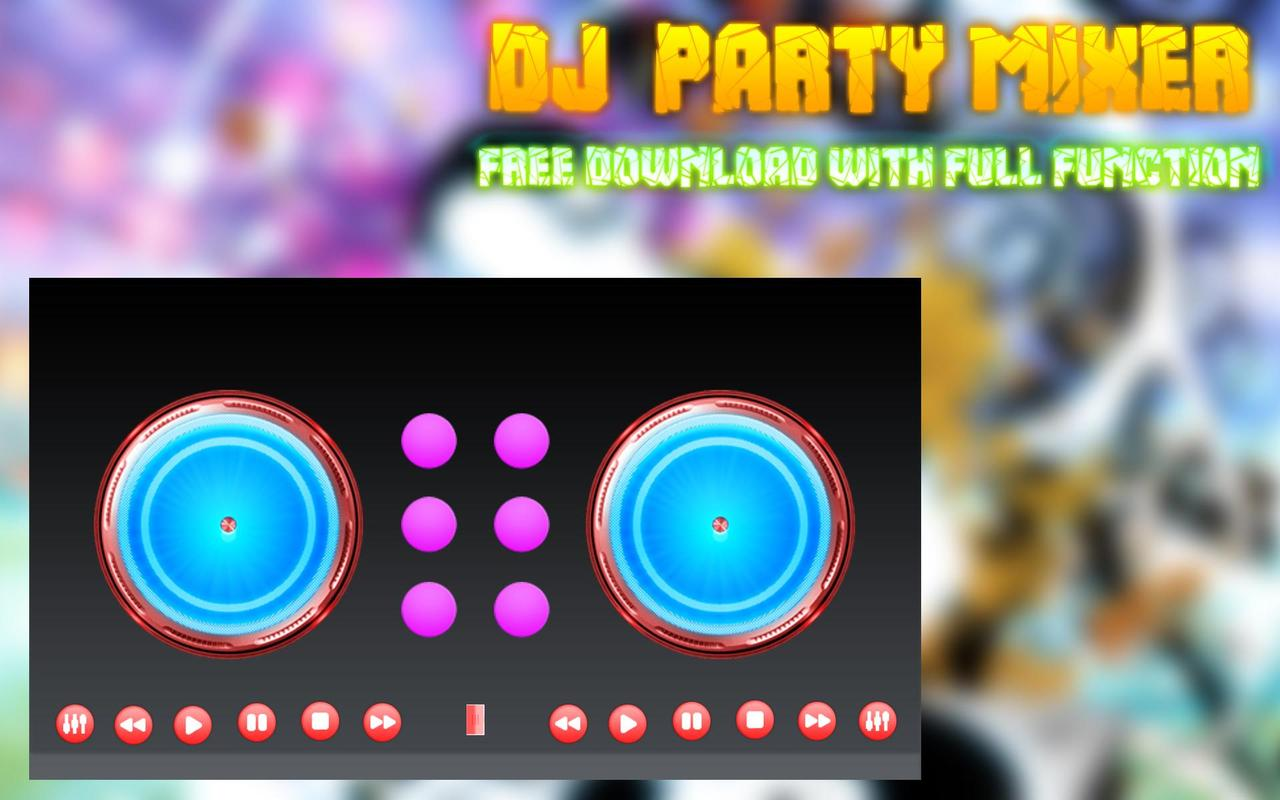 dj party mixer music sound apk download free music audio app for android. Black Bedroom Furniture Sets. Home Design Ideas