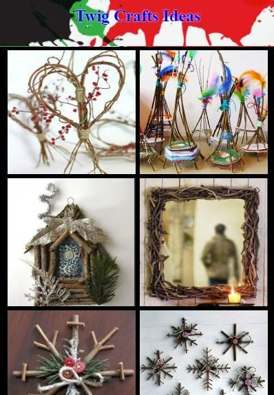 Twig Crafts Ideas poster