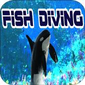 Fish Diving icon