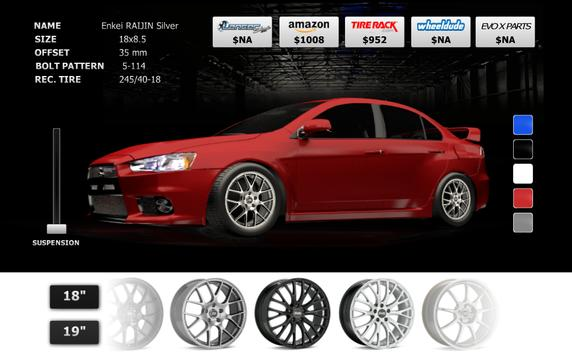 Lancer Evo X [Rims2Reality] screenshot 1