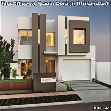 Dise o de casa de dos pisos minimalista for android apk for Casas minimalistas de 2 pisos
