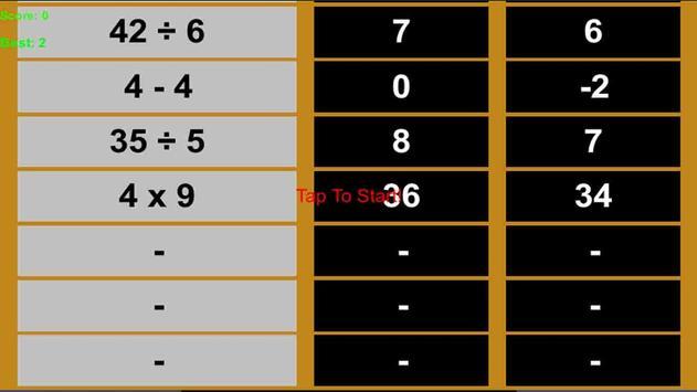 Fun Math apk screenshot
