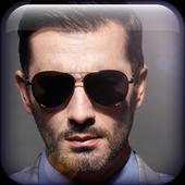 Men Sunglasses Photo Editor icon