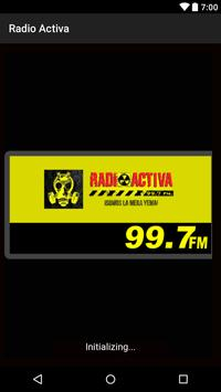 Radio activa 99.7 fm poster