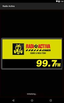 Radio activa 99.7 fm screenshot 1