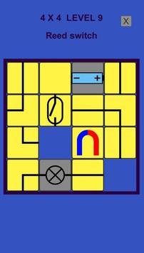 Electric – logic slide puzzle screenshot 1