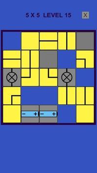 Electric – logic slide puzzle screenshot 3