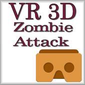 VR 3D Zombie Attack icon