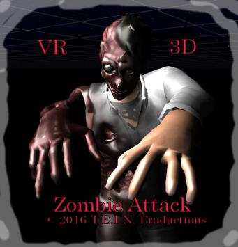 VR 3D Zombie Attack poster
