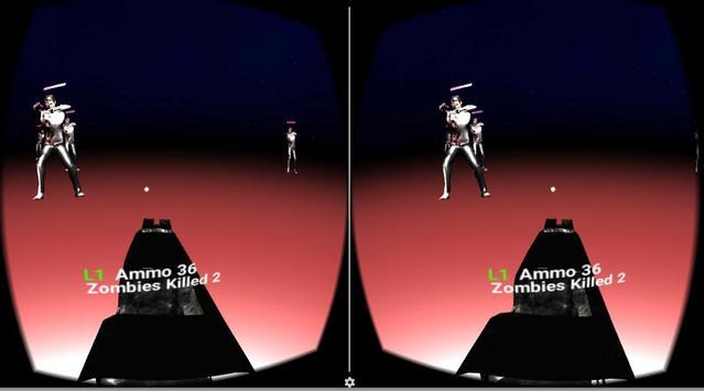 VR 3D Zombie Attack screenshot 1