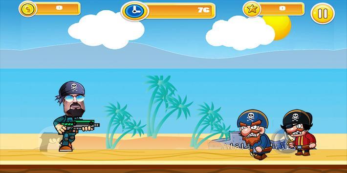 مغامرات خلفان ضد القراصنة apk screenshot