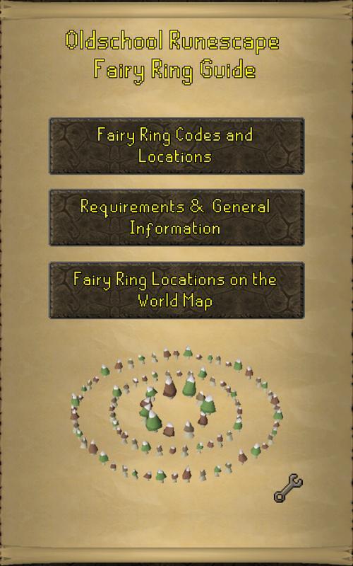 Oldschool Runescape Fairy Ring Guide für Android - APK herunterladen