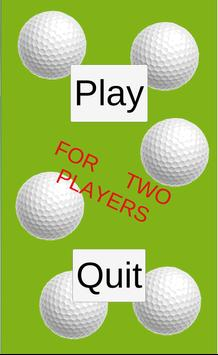 Golf Quick Tap poster