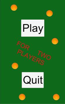For 2 Players Table Tennis poster