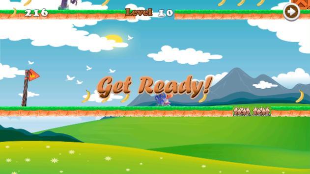 Jungle Monkey Run Adventures apk screenshot