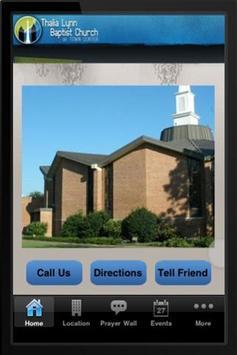 Thalia Lynn Baptist Church poster