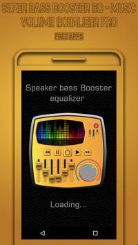 Super Bass Booster EQ - Music Volume Equalizer Pro screenshot 1